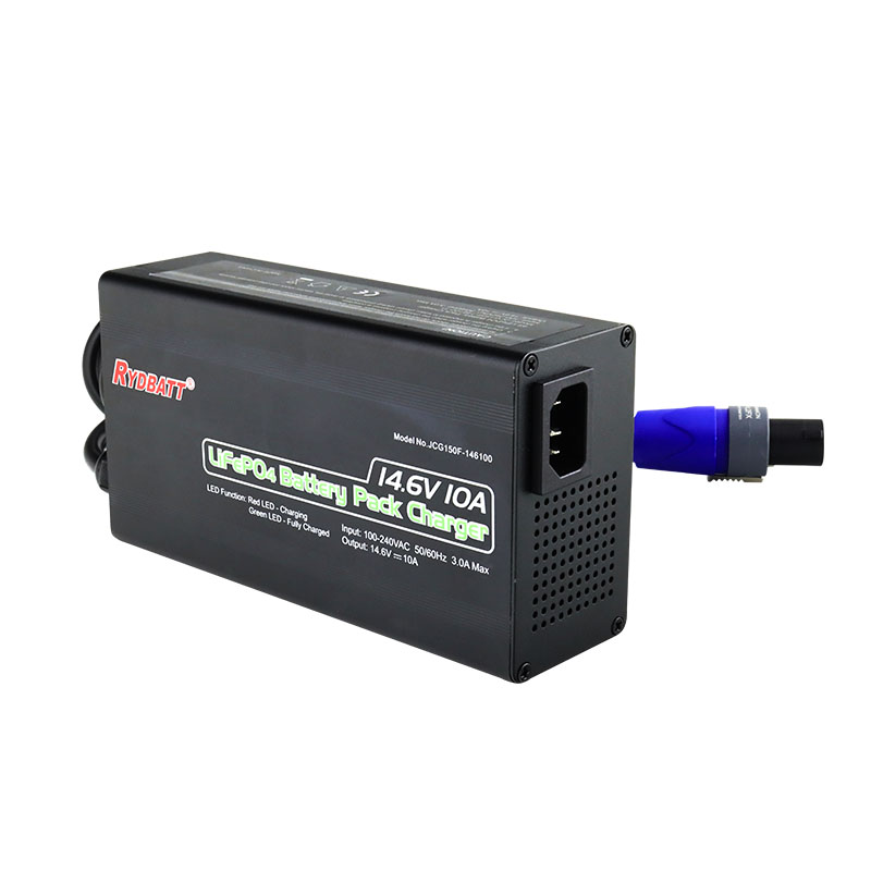 14.6V 10A 磷酸铁锂电池快速充电器 4S LiFePo4 battery charger