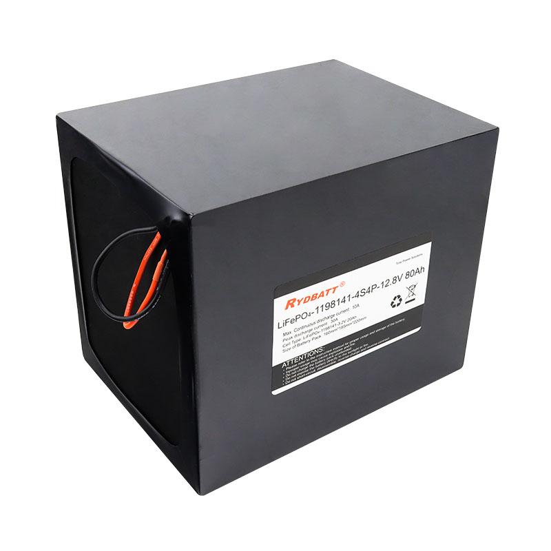 12.8V 80Ah 大容量磷酸铁锂 储能电池包 UPS电源