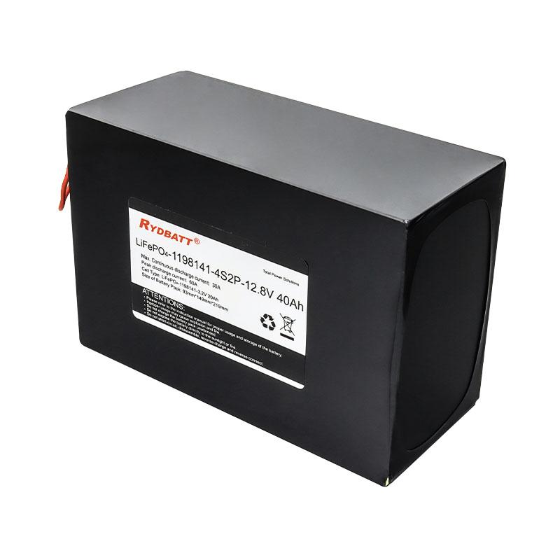 12.8V 40A 大容量磷酸铁锂 储能电池组 UPS电源