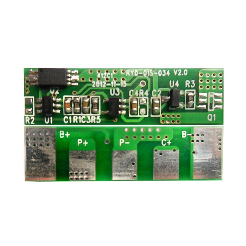 RYD-01S-034/V2.0版 单串18650锂电池保护板 BMS线路板