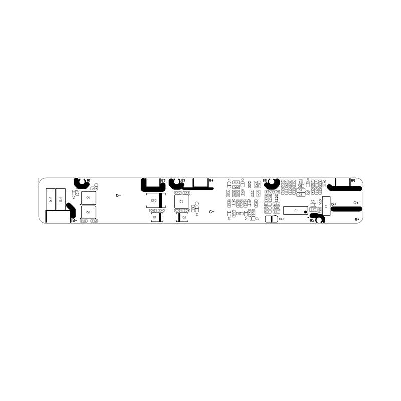 PCM-F25.2V 10-25A-ND (RYD-07S-010)锂电池BMS保护板