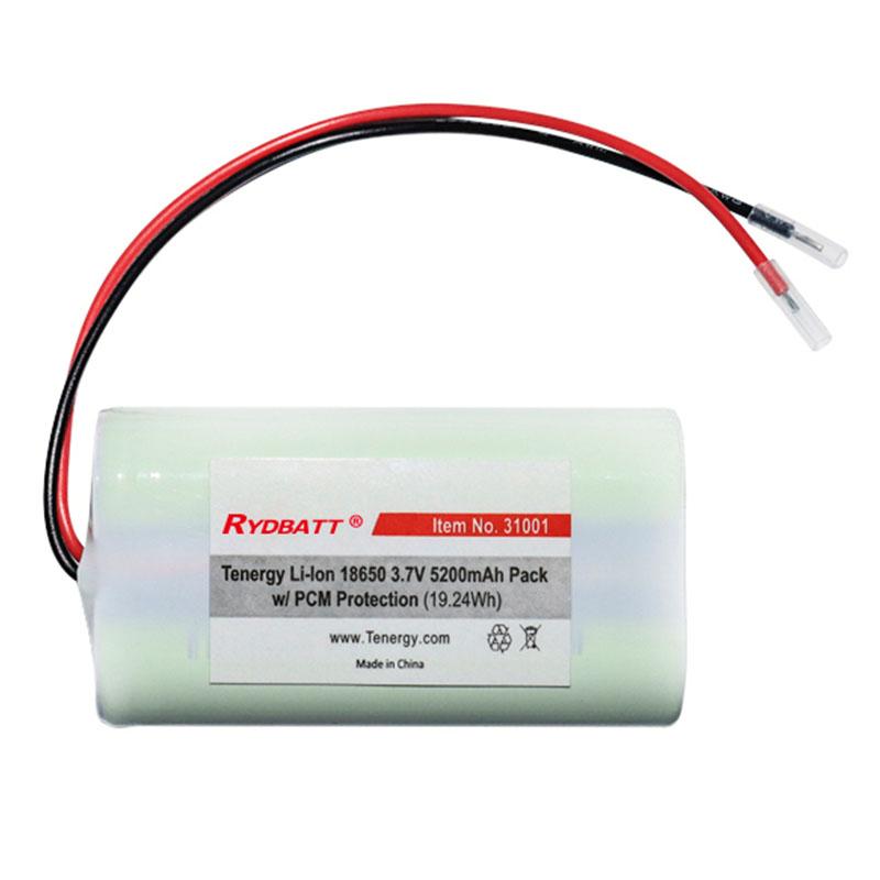 无线路由器 通讯设备 1S2P 3.7V 5.2Ah18650锂电池PACK