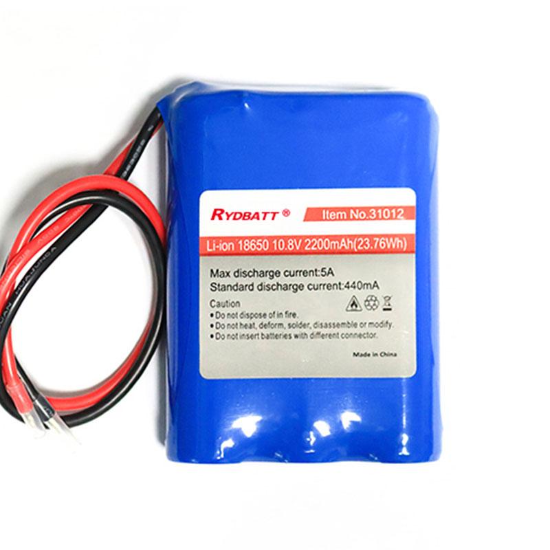 3串12V锂电池组 18650锂电池pack 移动通讯设备锂电