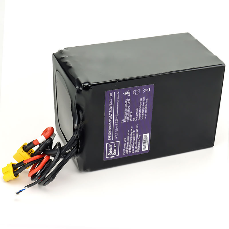 12.8V27Ah 4串1并 12V便携式储能电池组 SMBus